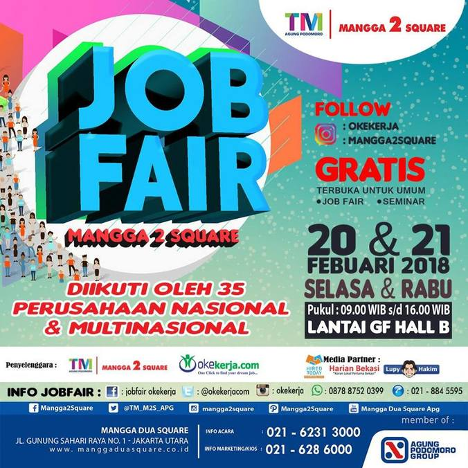 21684 medium job fair mangga 2 square