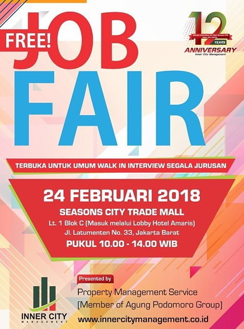 21685 medium job fair seasons city trade mall %e2%80%93 februari 2018