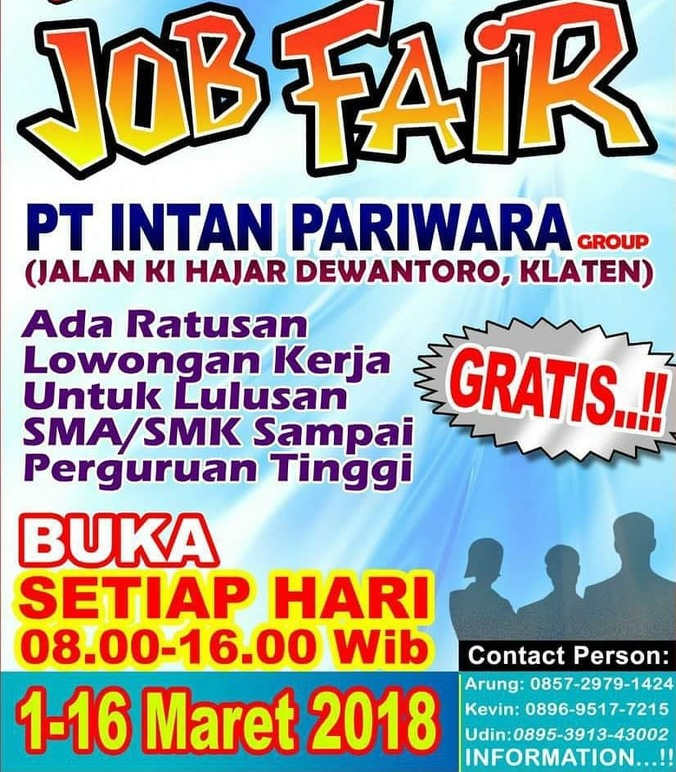 22011 medium job fair pt. intan pariwara group