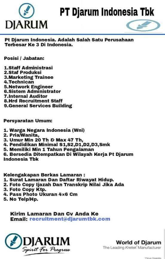 Lowongan Pekerjaan Raden Sumo Harjo Di Ngaliyan Semarang