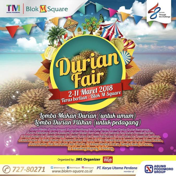 22379 medium durian fair %e2%80%93 blok m square