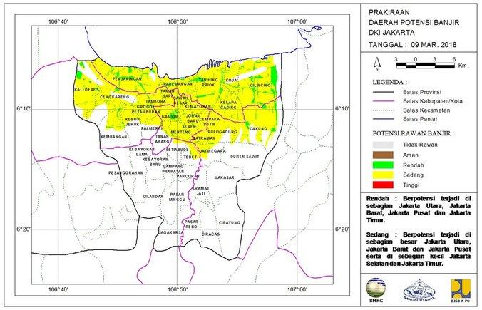 22399 medium info peta prakiraan daerah potensi banjir harian di dki jakarta   juma%e2%80%99t  09 maret 2018