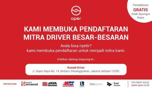 22420 medium oper %28online helper%29 membuka pendaftaran mitra driver besar besaran