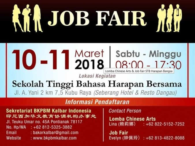 22450 medium job fair stb harapan bangsa