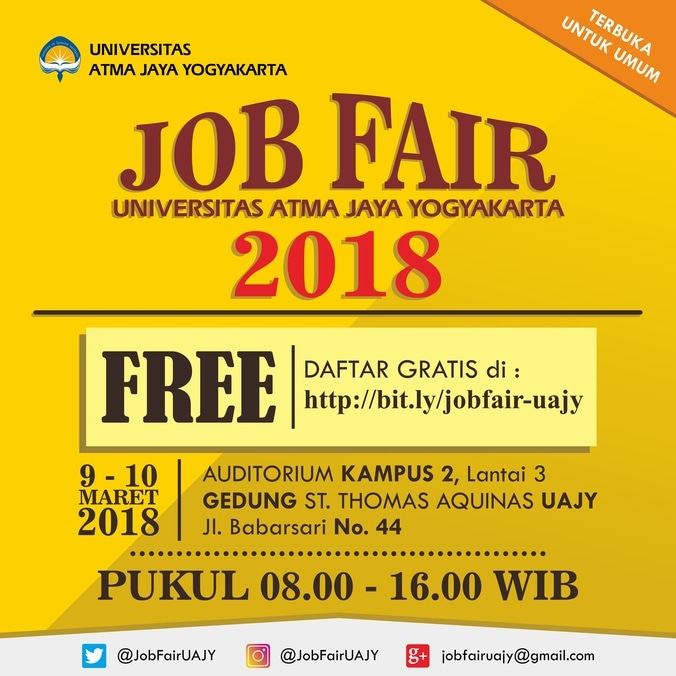 22465 medium job fair uajy %e2%80%93 maret 2018