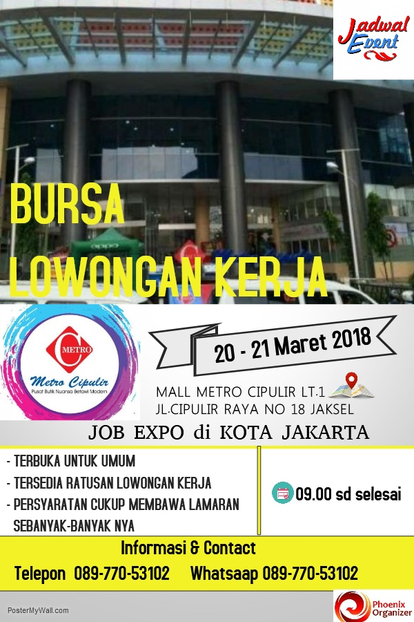 22567 medium job fair mall metro cipulir %e2%80%93 maret 2018