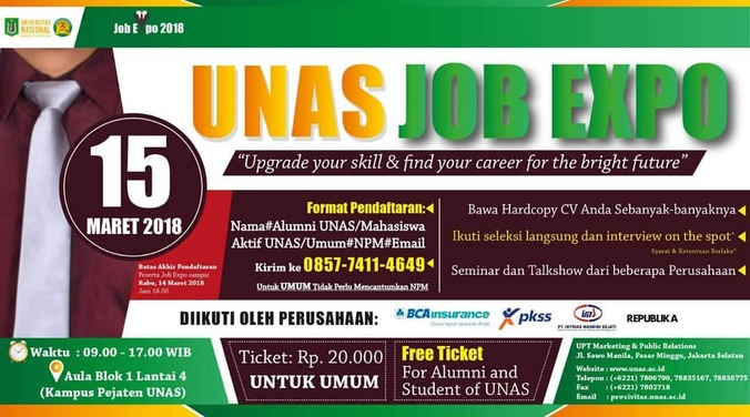 22753 medium unas job expo %e2%80%93 maret 2018
