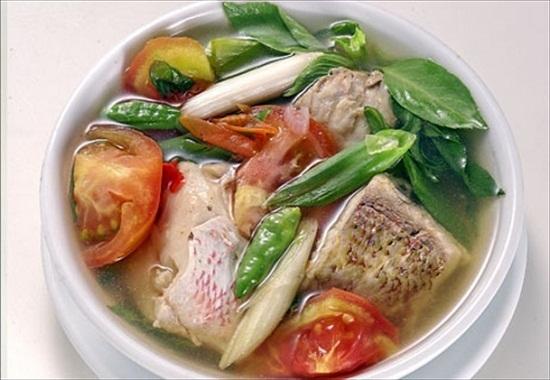 23334 medium ikan nila sup merah