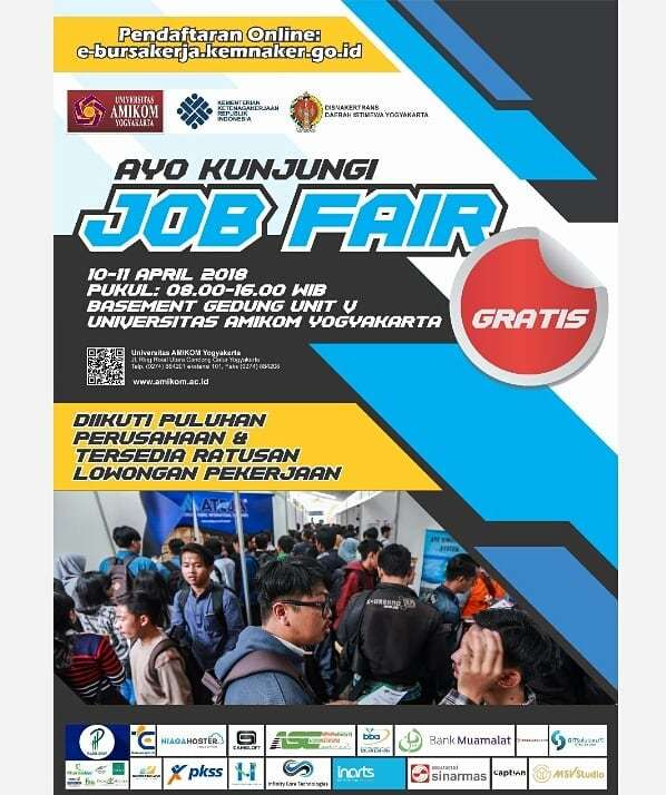 23576 medium job fair amikom yogyakarta %e2%80%93 april 2018