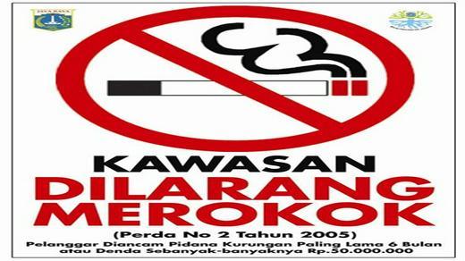 23630 medium poster dilarang merokok