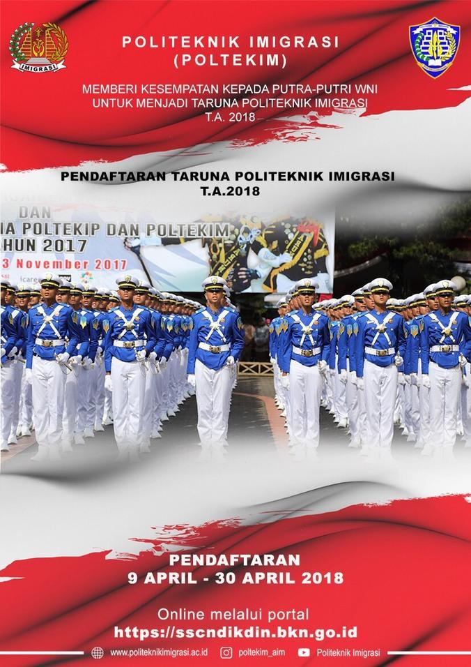 23658 medium pengumuman penerimaan taruna taruni politeknik imigrasi tahun 2018