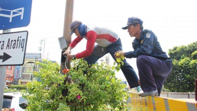 23752 medium jalan juanda depok rawan begal  dishub perbaiki pju
