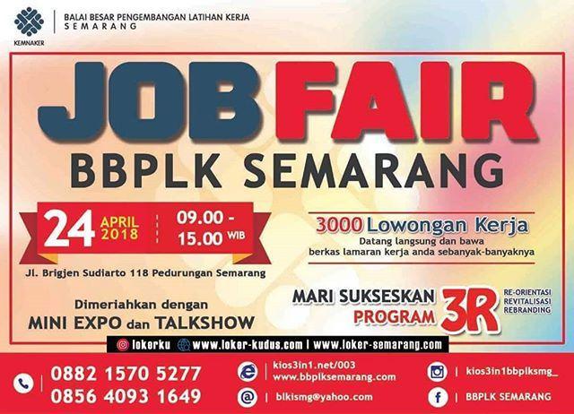 24011 medium job fair bbplk semarang