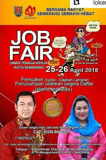 24480 medium job fair disnaker kota semarang %e2%80%93 april 2018