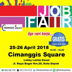 24482 small job fair %e2%80%8bakbar %e2%80%8bcimanggis square %e2%80%93 april 2018