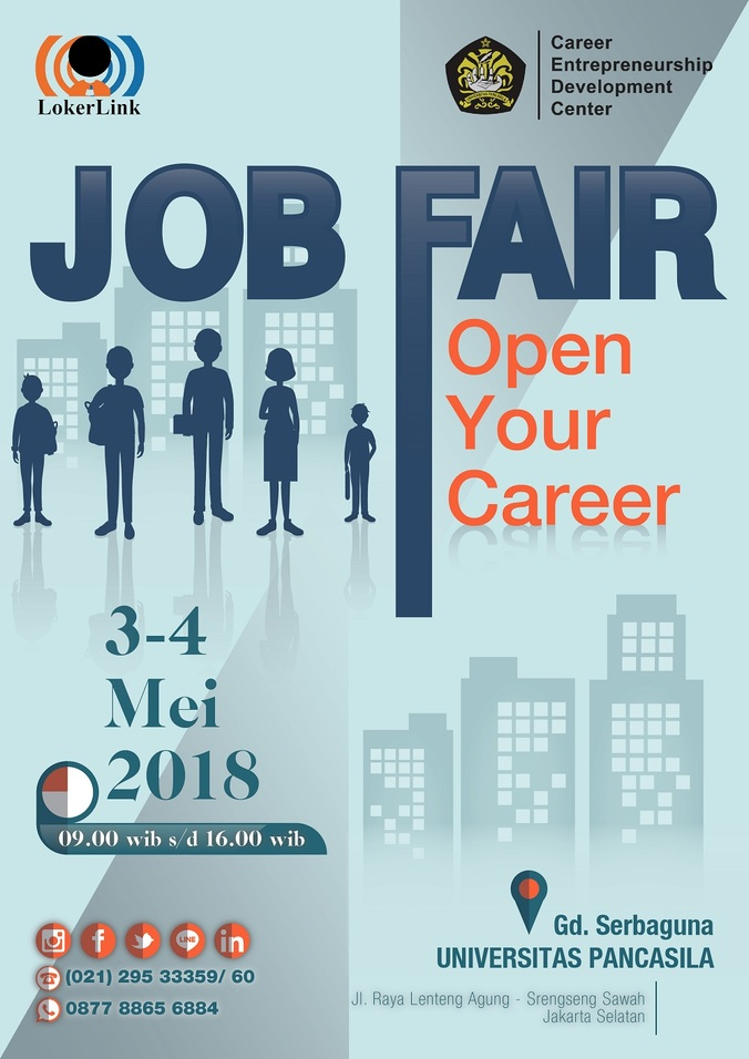 24688 medium job fair univ. pancasila %e2%80%93 mei 2018