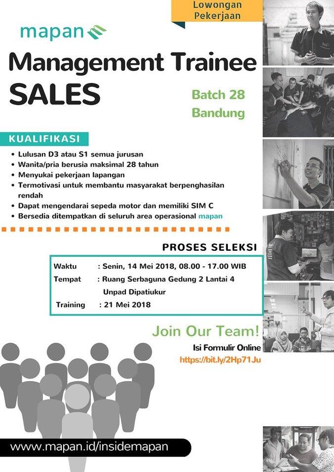 25253 medium manajemen trainee sales