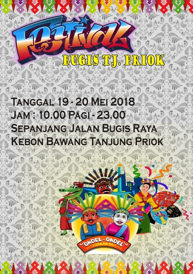 25400 medium festival bugis tanjung priok