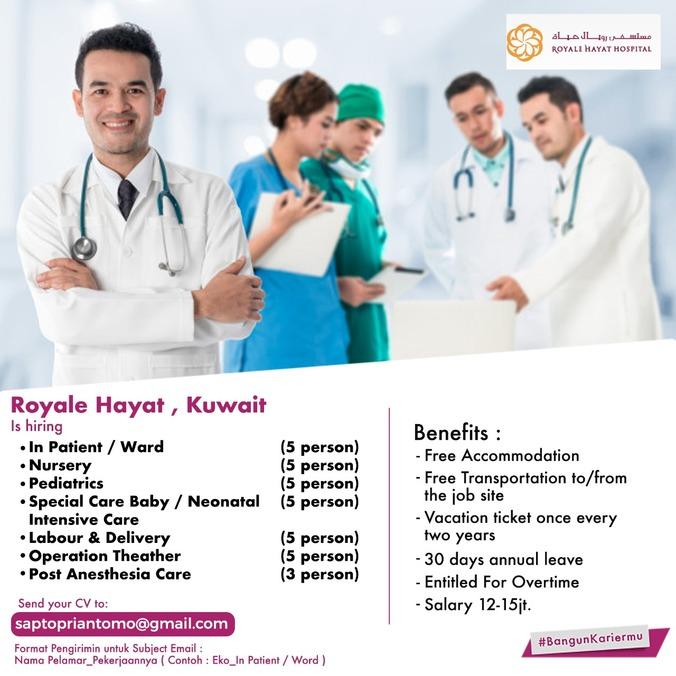 25791 medium lowongan kerja hospital royale hayat