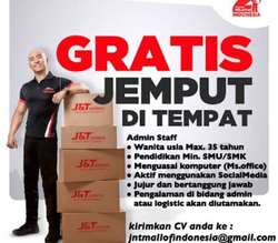 25834 small staff admin jnt express kelapa gading