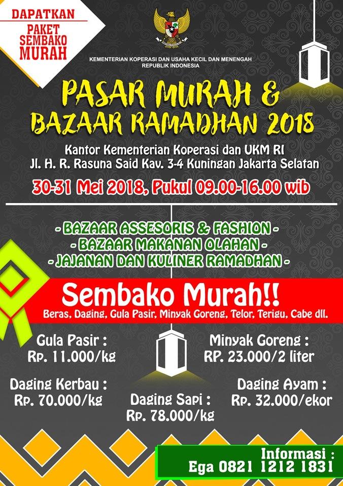 26046 medium pasar murah dan bazaar ramadhan 2018 kemenkop dan ukm ri