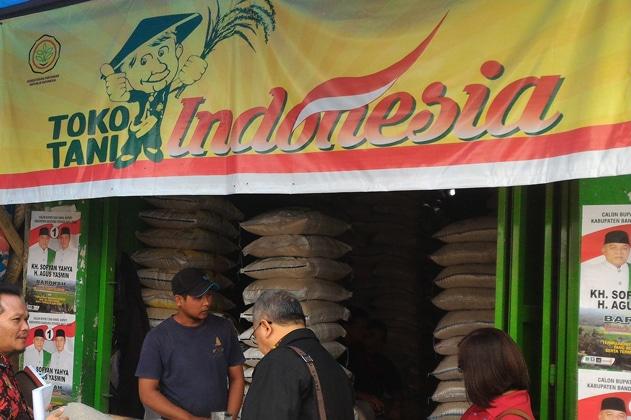 26292 medium berikut bazar murah kementan di 22 lokasi toko tani indonesia