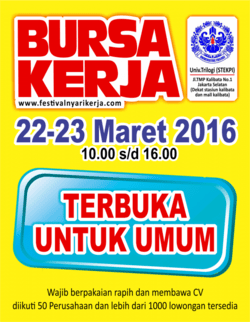2680 small  job fair  bursa kerja universitas trilogi %28stekpi%29