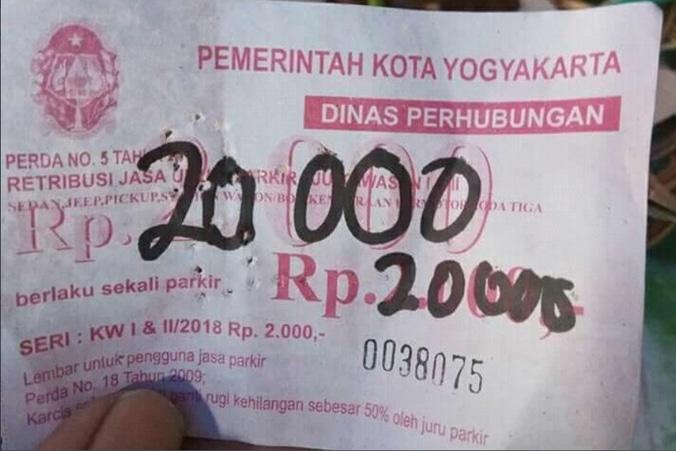 26831 medium 13 jukir di yogyakarta diciduk karena naikkan tarif parkir seenaknya