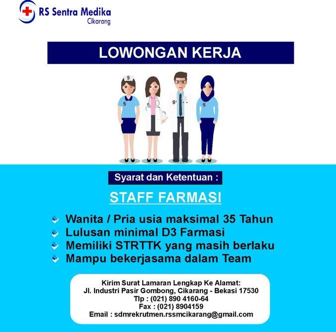 Staff Farmasi Atmago