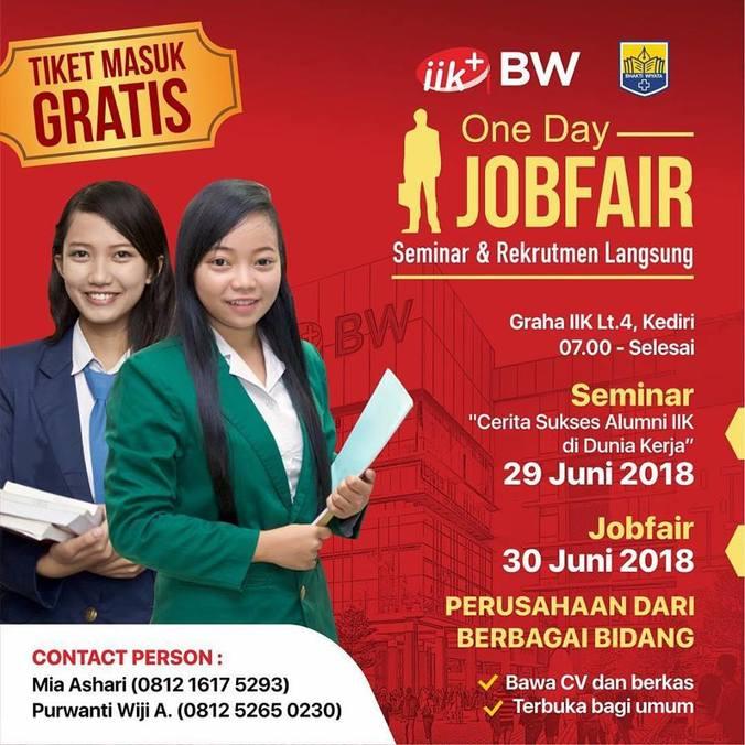 27065 medium one day job fair iik bhakti wiyata kediri %e2%80%93 juni 2018