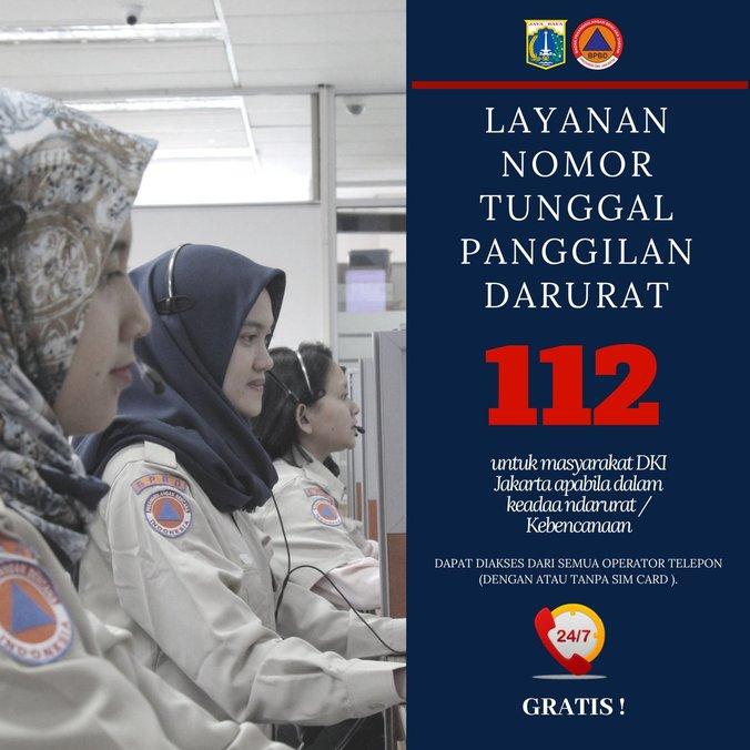 27194 medium layanan nomor tunggal panggilan darurat 112  dki jakarta