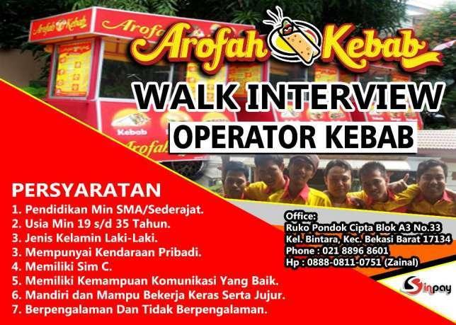 27284 medium operator kebab arofah