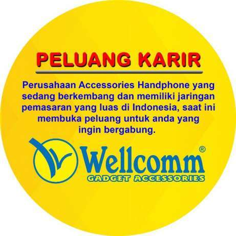 27347 medium loker marketing wellcomm di bekasi