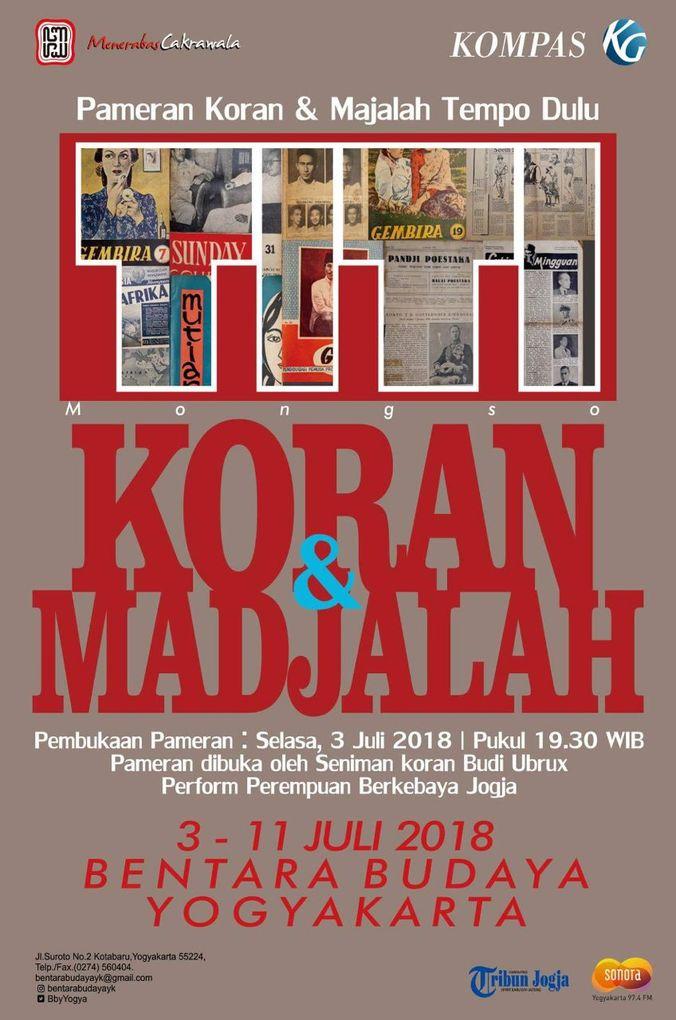 27401 medium pameran koran dan majalah tempo dulu