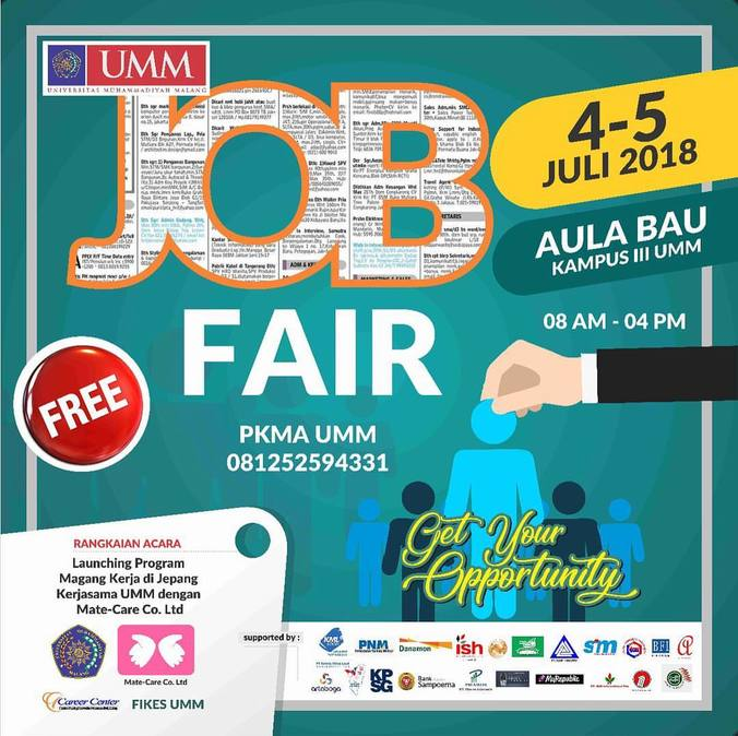27547 medium job fair umm %e2%80%93 juli 2018