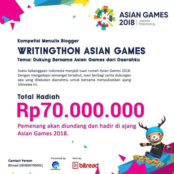 27760 medium 3AA03C2E 40E7 4FCB ADDD 647B407798B6 - Asian Games Writingthon