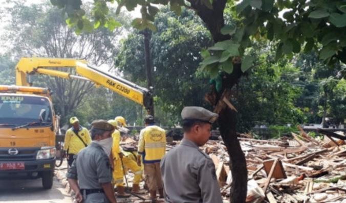 27916 medium proses awal pembangunan jalan tembus di rawasari dimulai