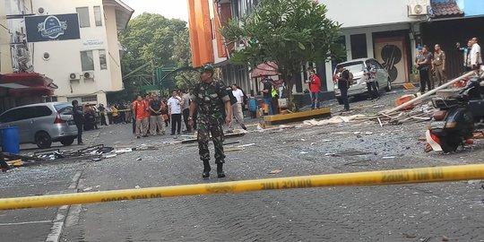 28013 medium dampak ledakan karyawan yang bekerja di ruko grand wijaya center diliburkan