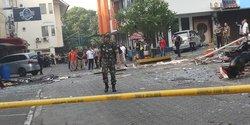 28013 small dampak ledakan karyawan yang bekerja di ruko grand wijaya center diliburkan