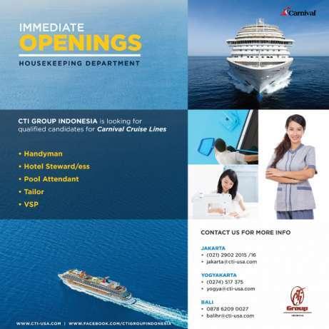 28020 medium housekeeping untuk kapal pesiar %28interview di jakarta%29