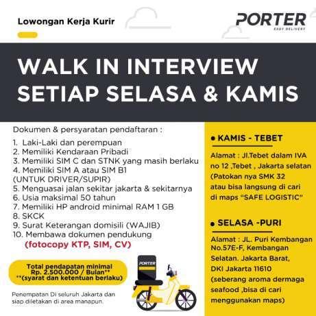 Loker Kurir Bukalapak Bandung - Jual Produk Lowongan Kerja ...