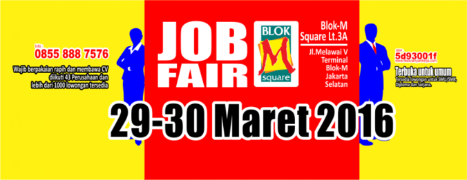 2831 medium job fair blok m square