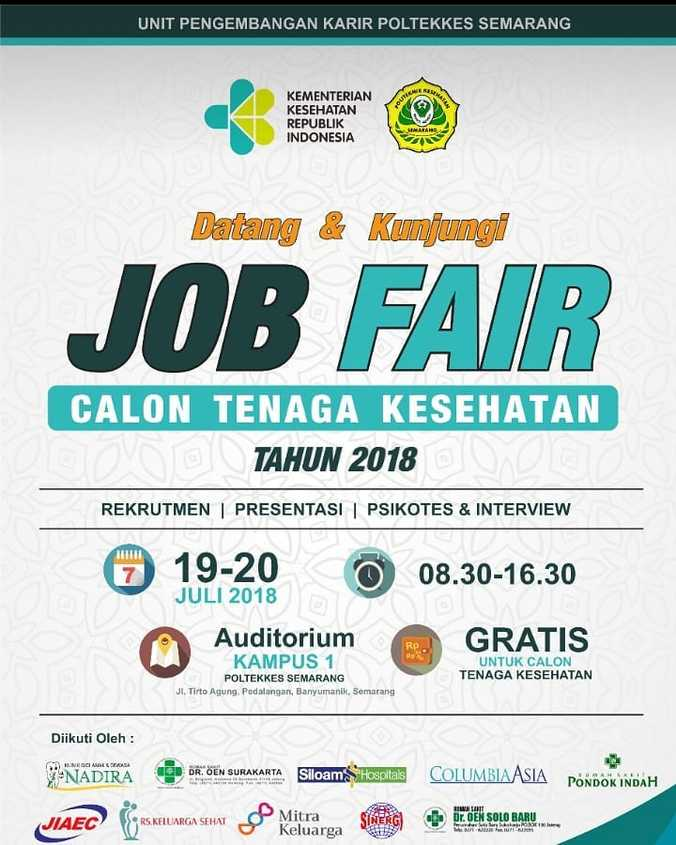 28339 medium job fair calon tenaga kesehatan 2018