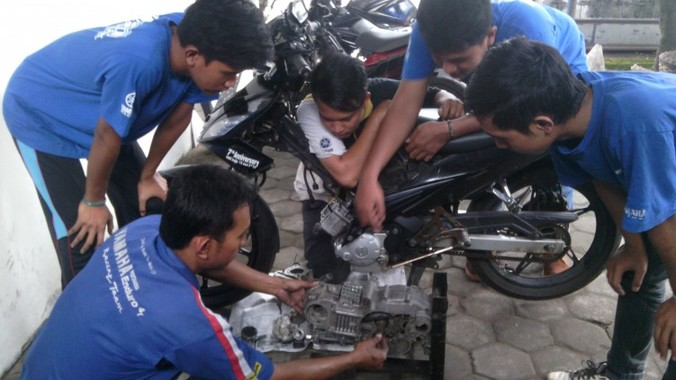 28500 medium lowongan mekanik atau montir motor sepatan tangerang