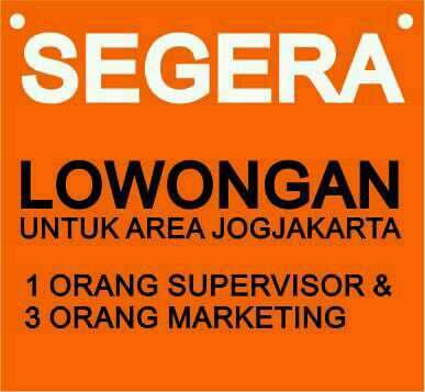 28684 medium supervisor dan team marketing untuk daerah jogja
