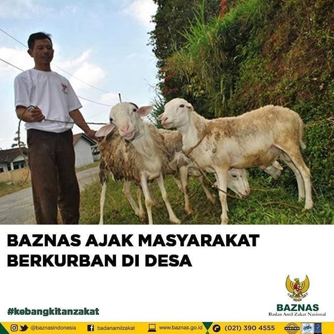 28754 medium baznas ajak masyarakat untuk berkurban di desa