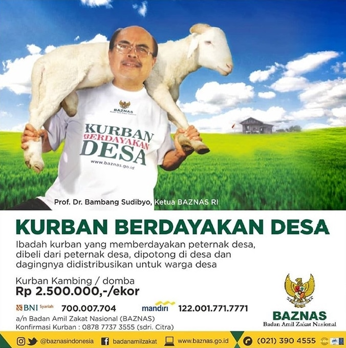 28905 medium program kurban berdayakan desa dari baznas