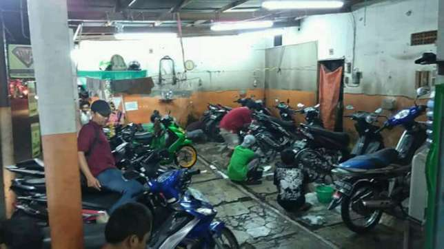 29207 medium lowongan kerja petugas cuci motor dimas steam cuci motor