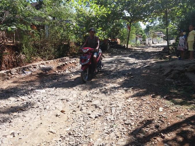 29467 medium jalan desa bringin rusak dan berbatu
