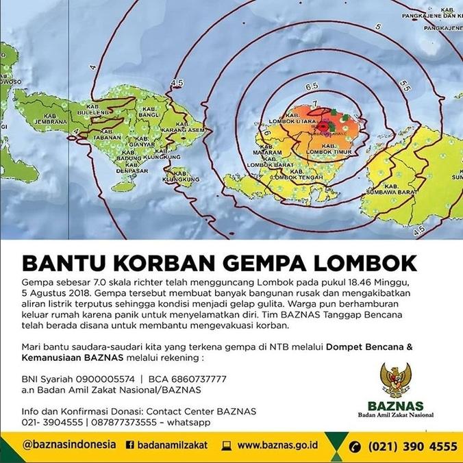 29633 medium mari bersama baznas bantu korban gempa lombok